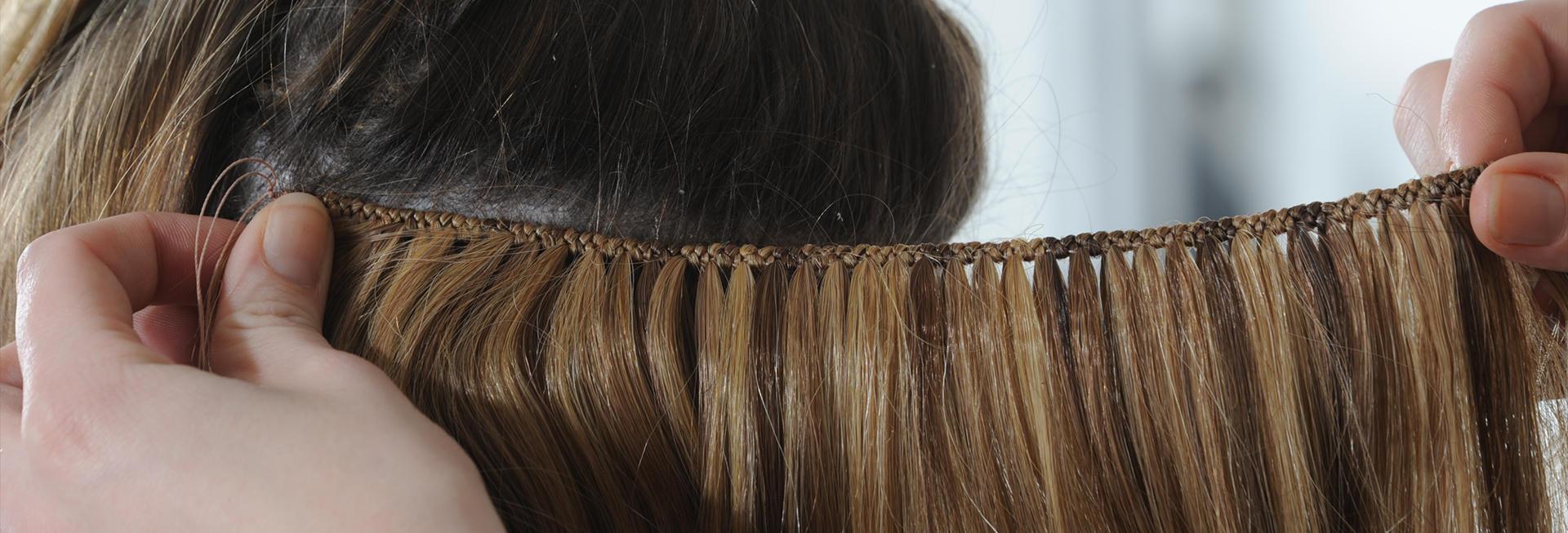 Verrassend Haarverlenging met écht Europees, onbehandeld haar   Topweave.nl FU-46